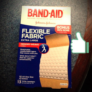 Photo of Band-Aid® Brand Adhesive Bandages Flexible Fabric Band Aids 100 ct. Box uploaded by Lauren A.