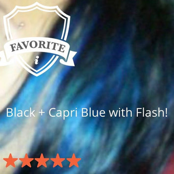 Photo of Crazy Color Semi Permanent Hair Color Cream Capri Blue No.44 100ml  uploaded by Cátia O.