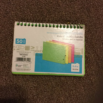 Photo of Oxford Ruled Index Cards uploaded by Susan J.