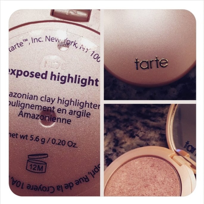 tarte Amazonian Clay Highlighter Exposed 0.20 oz uploaded by Denise P.