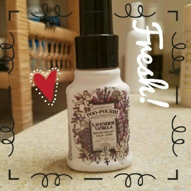 Poo Pourri Poo-Pourri Before-You-Go Toilet Spray, Lavender, Vanilla & Citrus, 2 oz uploaded by Kelly R.