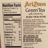 AriZona Sugar Free Green Tea with Ginseng Iced Tea Stix uploaded by Brianna S.