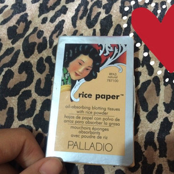 Palladio Rice Paper Powdered Blotting Tissues uploaded by Laura P.