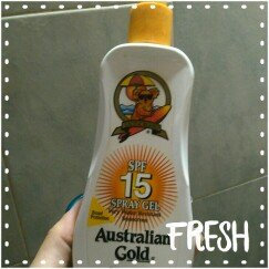 Photo of Australian Gold Clear Spray Gel SPF 30 uploaded by Ahilebsis C.