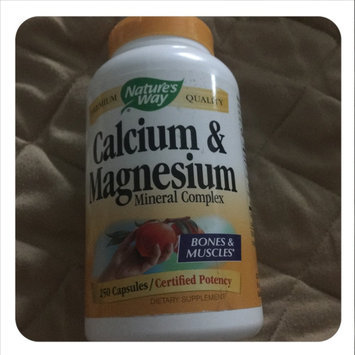 Photo of tures Way Calcium & Magnesium 250 Caps from Nature's Way uploaded by Boots S.