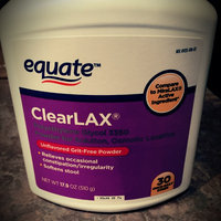 Equate - ClearLax Laxative, 17.9 Ounce, 30 Doses, Compare to MiraLAX uploaded by Harlow B.