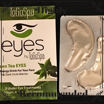 Photo of ToGoSpa Green Tea - Rejuvenating Eye Pads 3 piece uploaded by Katherine A.