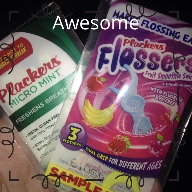 Plackers Dual Grip Fruit Smoothie Swirl Kid's Flossers uploaded by Farren A.
