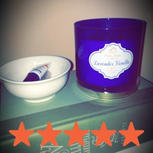 White Barn Lavender Vanilla 14.5 oz 3 Wick Candle Bath & Body Works uploaded by Rosa D.