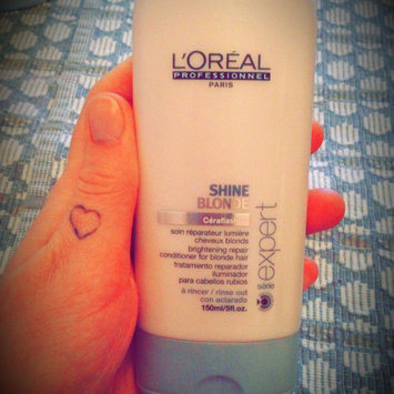 Photo of L'Oréal Professionnel Serie Expert Shine Blonde Conditioner uploaded by Ariane B.