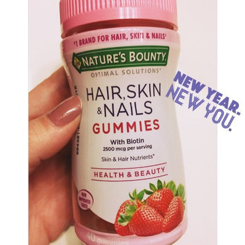 Nature's Bounty Optimal Solutions Hair, Skin and Nails Gummies - 220 Count uploaded by Jaylee D.