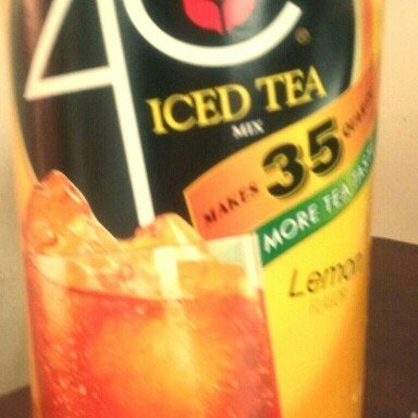 4C® Lemon Iced Tea Mix uploaded by Fatima A.