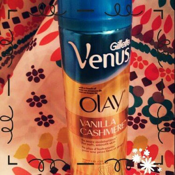 Photo of Gillette Venus® with a touch of Olay® Vanilla Cashmere™ Shave Gel uploaded by Kaitlyn R.