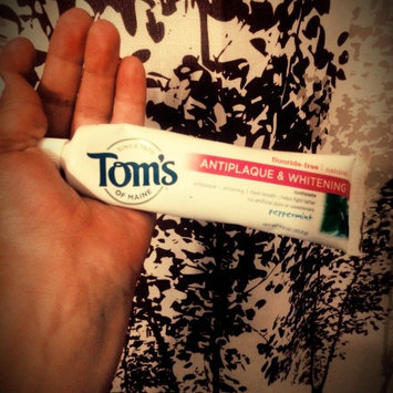 Photo of Tom's OF MAINE Wintermint Fluoride Free Sensitive Toothpaste uploaded by Ana S.