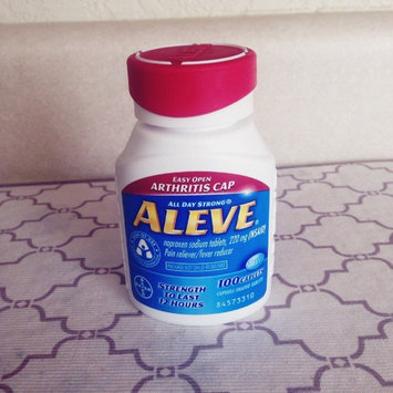 Aleve Tablets with Easy Open Arthritis Cap uploaded by Kylie H.