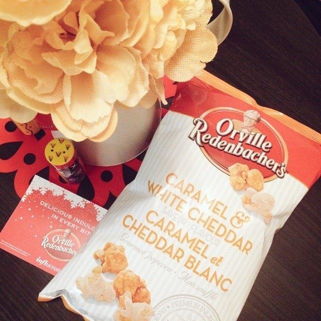 Orville Redenbacher's® Caramel White Cheddar Popcorn uploaded by Shreya J.