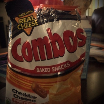 Photo of Combos Baked Snacks Cheddar Cheese Cracker uploaded by Lacey F.