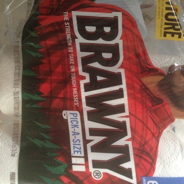 Brawny Paper Towels uploaded by Mallory R.