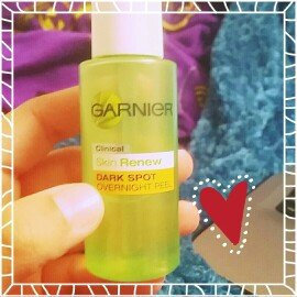 Photo of Garnier Skinactive Clearly Brighter Overnight Leave-on Peel uploaded by Brianna B.