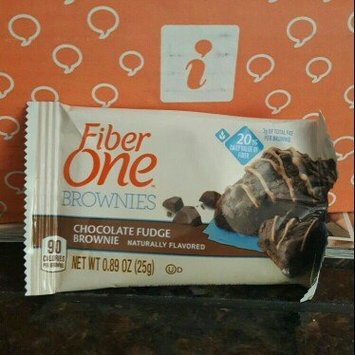 Photo of Fiber One 90 Calorie Chocolate Fudge Brownie uploaded by Cece A.