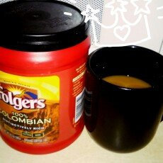 Photo of Folgers 100% Colombian Med-Dark Roast Ground Coffee uploaded by Amber R.