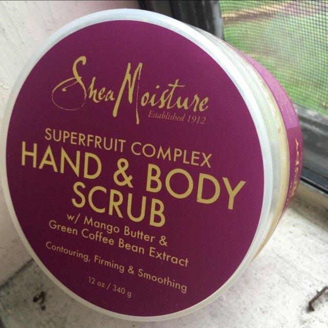 Shea Moisture Body Scrub uploaded by Jeff M.