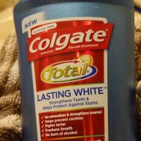 Colgate Total Lasting White Polar Freshmint Anticavity Fluoride Mouthwash uploaded by Sarah E.