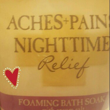 Photo of Village Naturals Therapy Aches+Pains Nighttime Relief Foaming Bath Soak with Epsom Salt, 36 oz uploaded by Anita S.