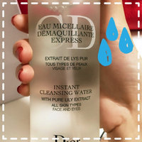Dior Instant Cleansing Water with Pure Lily Extract 6.7 oz uploaded by Michelle L.