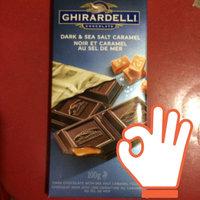 Ghirardelli Chocolate Dark Chocolate Sea Salt Caramel Bar uploaded by sherrie M.