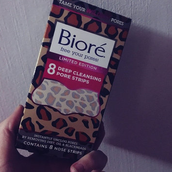 Biore® Deep Cleansing Pore Strips 8 ct Box uploaded by Kayla H.