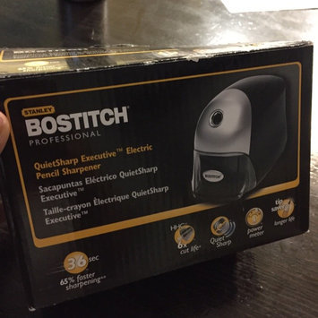 Bostitch QuietSharp Executive Pencil Sharpener, Black uploaded by Reylynna N.