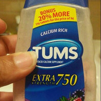 Tums Calcium Rich Extra Strength 750 - Assorted Berry - 116 Tablets uploaded by Mary G.