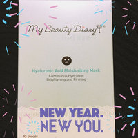 My Beauty Diary Hyaluronic Acid Moisturizing Facial Mask, 10 count uploaded by Ora H.