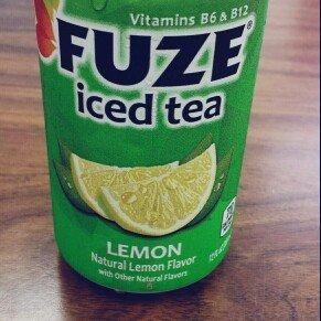 Fuze Lemon Iced Tea 12 Fl Oz uploaded by Nina G.