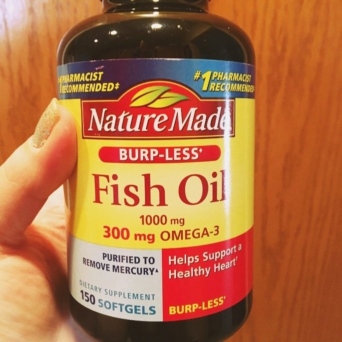 Nature Made Fish Oil Softgels uploaded by Sara P.