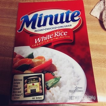 Minute Rice Instant Long Grain White Rice uploaded by teran f.