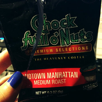 Photo of Chock Full o'Nuts Medium Roast Coffee Midtown Manhattan Single Serve Cups uploaded by Elsie R.