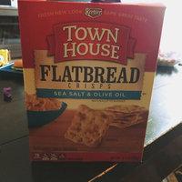 Keebler Town House Flatbread Crisps Sea Salt & Olive Oil Crackers uploaded by Dana D.