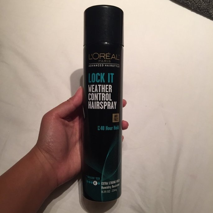 L'Oréal Paris Advanced Hairstyle Lock It Weather Control Hairspray, 8. uploaded by Kamille G.