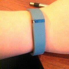 Photo of Fitbit Flex Wireless Activity + Sleep Tracker, Slate, 1 ea uploaded by Sarah C.