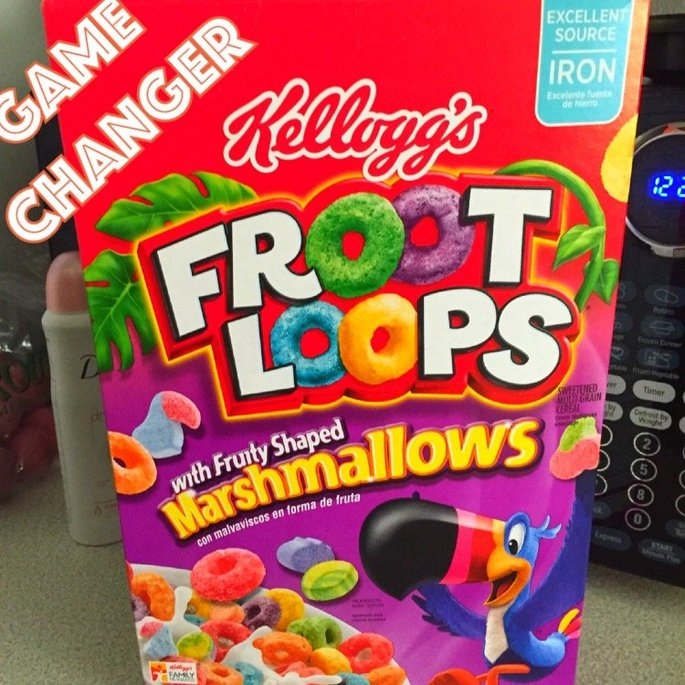 Kellogg's Froot Loops Cereal uploaded by Jessica M.