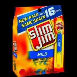 Photo of Slim Jim Mild Smoked Sticks uploaded by Melissa B.