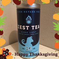 Zest Tea Energy Tea - High Caffeine Blue Lady Black Tea - 150 Mg Of Caffeine Per Bag (16 Tea Sachets) uploaded by Katie L.