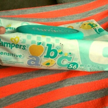 Pampers Sensitive Wipes Travel Pack, 56 ea uploaded by Elena S.