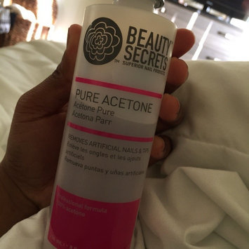Photo of Beauty Secrets Nourishing Acetone Nail Polish Remover 16 oz. uploaded by Duchess H.