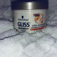 Schwarzkopf Gliss™ Hair Repair™ with Liquid Keratin Ultra Moisture Anti-Breakage Treatment 6.1 oz. Jar uploaded by Lisa O.