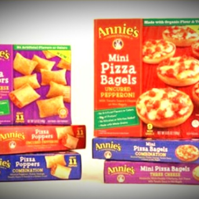 Annie's Pizza Poppers & Mini Pizza Bagels uploaded by Carlyn D.
