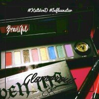 Photo of Kat Von D Serpentina Eyeshadow Palette uploaded by Andrea B.