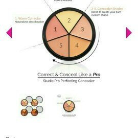 BH Cosmetics Studio Pro Perfecting Concealer Makeup uploaded by Sarrang P.